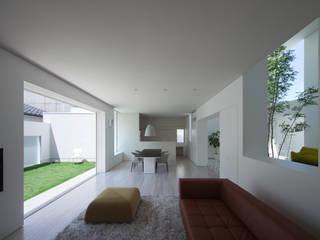 obi house Soggiorno moderno di ソルト建築設計事務所 Moderno