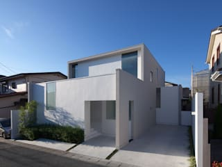 obi house Modern home by ソルト建築設計事務所 Modern