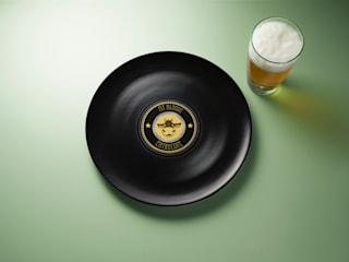 Longplate - Porcelane plate 28 cm di Mamado srl Eclettico
