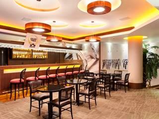 Hotel Novo Mundo - Bar Grand Prix Hotéis modernos por DG Arquitetura + Design Moderno