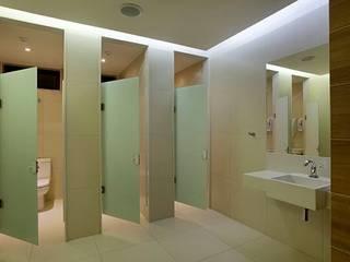 Panamera Bistrô - Banheiros Públicos Espaços gastronômicos modernos por DG Arquitetura + Design Moderno