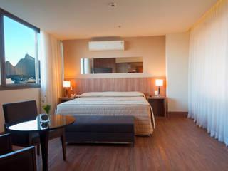 Hotel Novo Mundo - Suíte Hotéis modernos por DG Arquitetura + Design Moderno