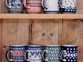Classic mugs von Blue Dot Pottery Ltd Landhaus