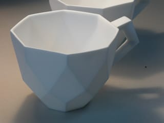 Diamond Cup van Winter Ceramics Klassiek