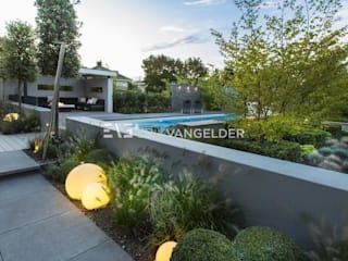 Wellness garden Barendrecht Modern style gardens by ERIK VAN GELDER | Devoted to Garden Design Modern