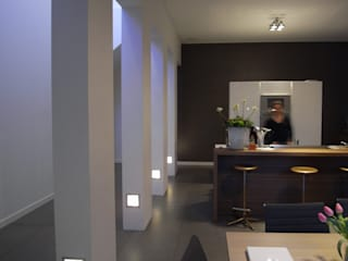 Huis Sonnevanck Arnhem Moderne keukens van TenBrasWestinga ARCHITECTUUR / INTERIEUR en STEDENBOUW Modern