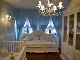 Lacote Design – Özel sipariş klasik erkek bebek odası tasarımı:  tarz