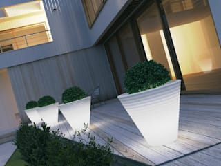 Tera Light Collection Eight White:  in stile industriale di tera-italy, Industrial