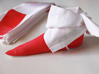 Origamiserviette Nikolausstiefel:  Esszimmer von moij design
