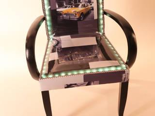 Chevalier Yves Art et déco du siège ห้องนั่งเล่นโซฟาและเก้าอี้นวม