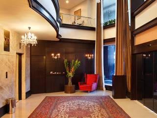 Hotel Novo Mundo - Lobby Hotéis modernos por DG Arquitetura + Design Moderno