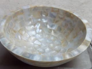 Mother Of Pearl Wash Basin Stonesmiths - Redefining Stoneage BathroomSinks