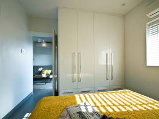 Dhruva Samal & Associates Minimalist bedroom