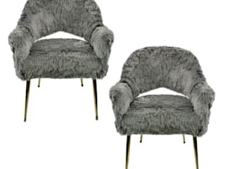 A Pair Of Elegant French Armchairs In Fun by Antiques, Lighting and The Interior