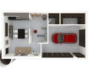 AG Interior Design Modern garage/shed
