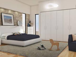 Camera da letto completa: Camera da letto in stile in stile Moderno di Taleia