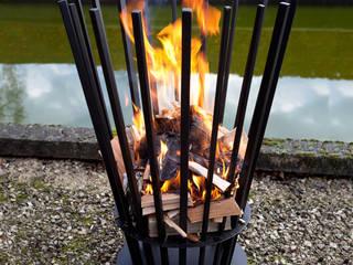 Fire basket:   door Studio Peter Van Riet