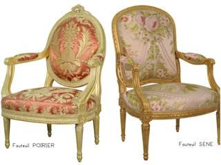 Les fauteuils d'apparat par Balcaen:  de style  par BALCAEN Mobilier de style, Paris