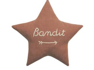 coussin BANDIT STAR copper:  de style  par Mister Bandit