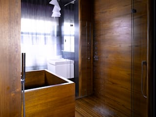 Shower Room for Hampstead House: modern  by William Garvey Ltd, Modern