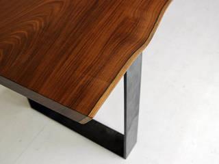 통나무테이블: 가구를 작곡하다의