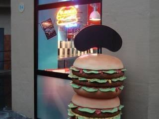 Burger House par b2m-architecture