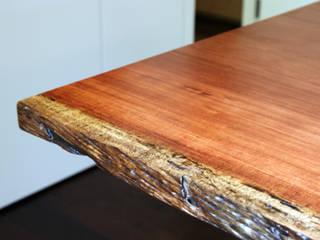 통원목테이블: 가구를 작곡하다의