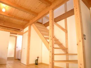 ระเบียงและโถงทางเดิน โดย 三宅和彦/ミヤケ設計事務所, มินิมัล