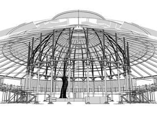 Arboreal Lightning Modern stadiums by Atmos Studio Modern