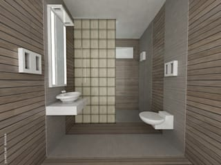 Bathroom interiors:  Bathroom by Preetham  Interior Designer