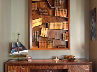 Santos Rosewood Bookshelf by Gosling Ltd