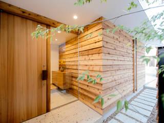 Rumah Modern Oleh アトリエ FUDO Modern