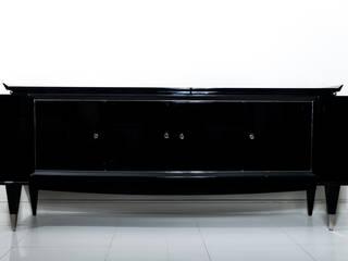 Exceptional sideboard in black lacquer circa 1945 de BDV Deco et Dany Art design Ecléctico