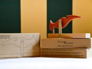 Artigianale e green: il picchio appendiabiti:  in stile  di SlowWood