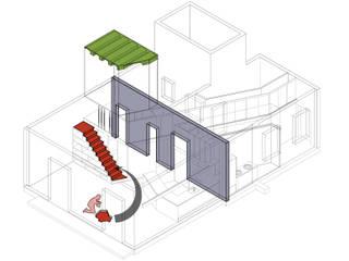 diagrama arqueológico:  de estilo  de Miel Arquitectos
