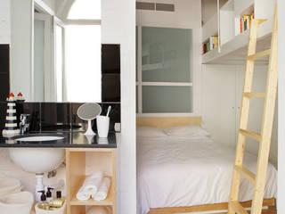 Miel Arquitectos Modern style bedroom