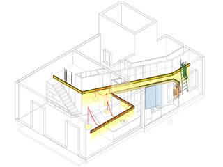 diagrama guias:  de estilo  de Miel Arquitectos