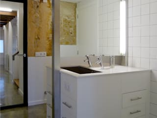 Miel Arquitectos Country style bathroom