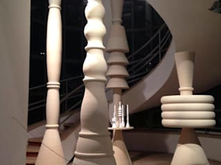 Flauti - Mostra Triennale Design Museum:  in stile  di PIMAR