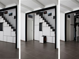 casa DIEMME Soggiorno moderno di ellevuelle architetti Moderno