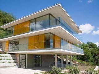 Ansicht Süd-West:  Terrasse von Atelier und Architekturbüro Bärenwald