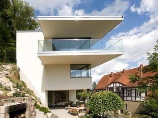 Ansicht West:   von Atelier und Architekturbüro Bärenwald