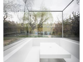 White on White Conservatory by Gianni Botsford Architects