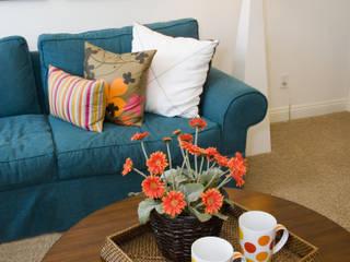 saustark design Living roomSofas & armchairs