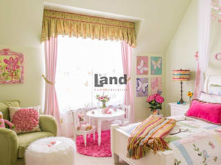 Land Home Specialist – Romantik Provance Genç Odası:  tarz