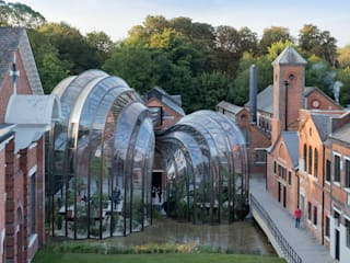 Bombay Sapphire Distillery, Laverstoke Mill:  Bars & clubs by Heatherwick