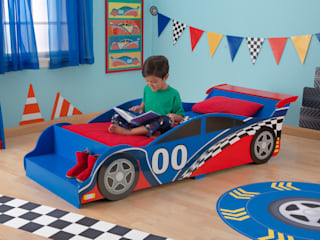Transport Themed Bedroom Ideas por Cuckooland Moderno