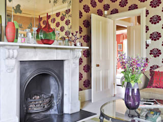 Living room by Deborah Warne Interiors Ltd, Eclectic