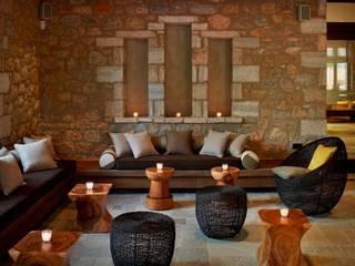Costa Navarino, Greece Mediterranean style hotels by MKV Design Mediterranean