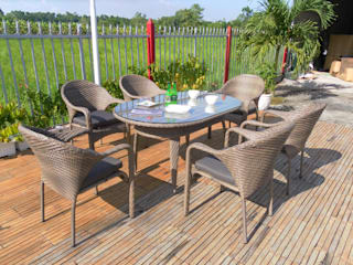 Dining set RADS 012 por Sunday Furniture Clássico